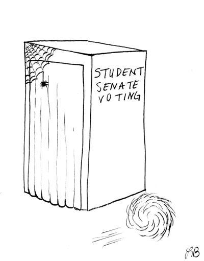 Cartoon Student Senate