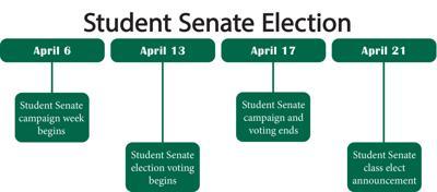 student senate timeline