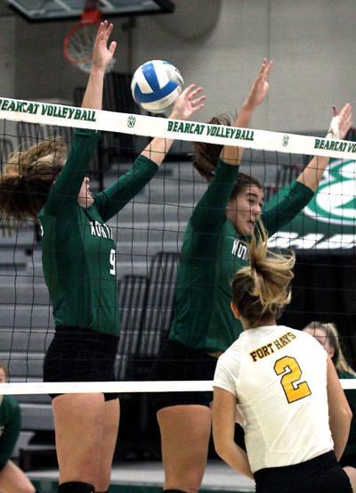 Northwest volleyball sweeps Fort Hays