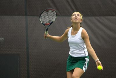 Maryville district tennis, Hall collapses