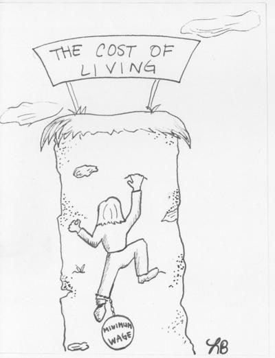Cartoon Minimum wage