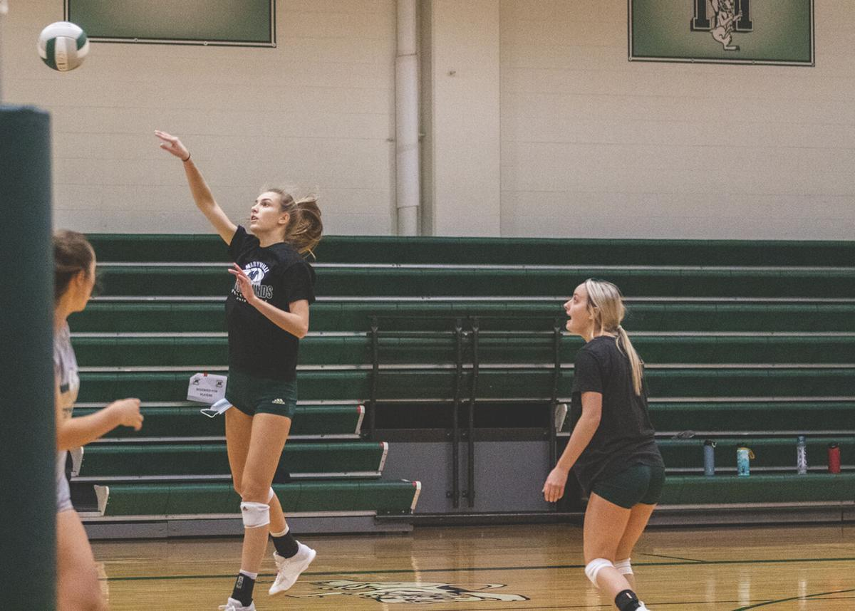 Maryville volleyball beats Cameron in first round of districts, prepares to face Savannah