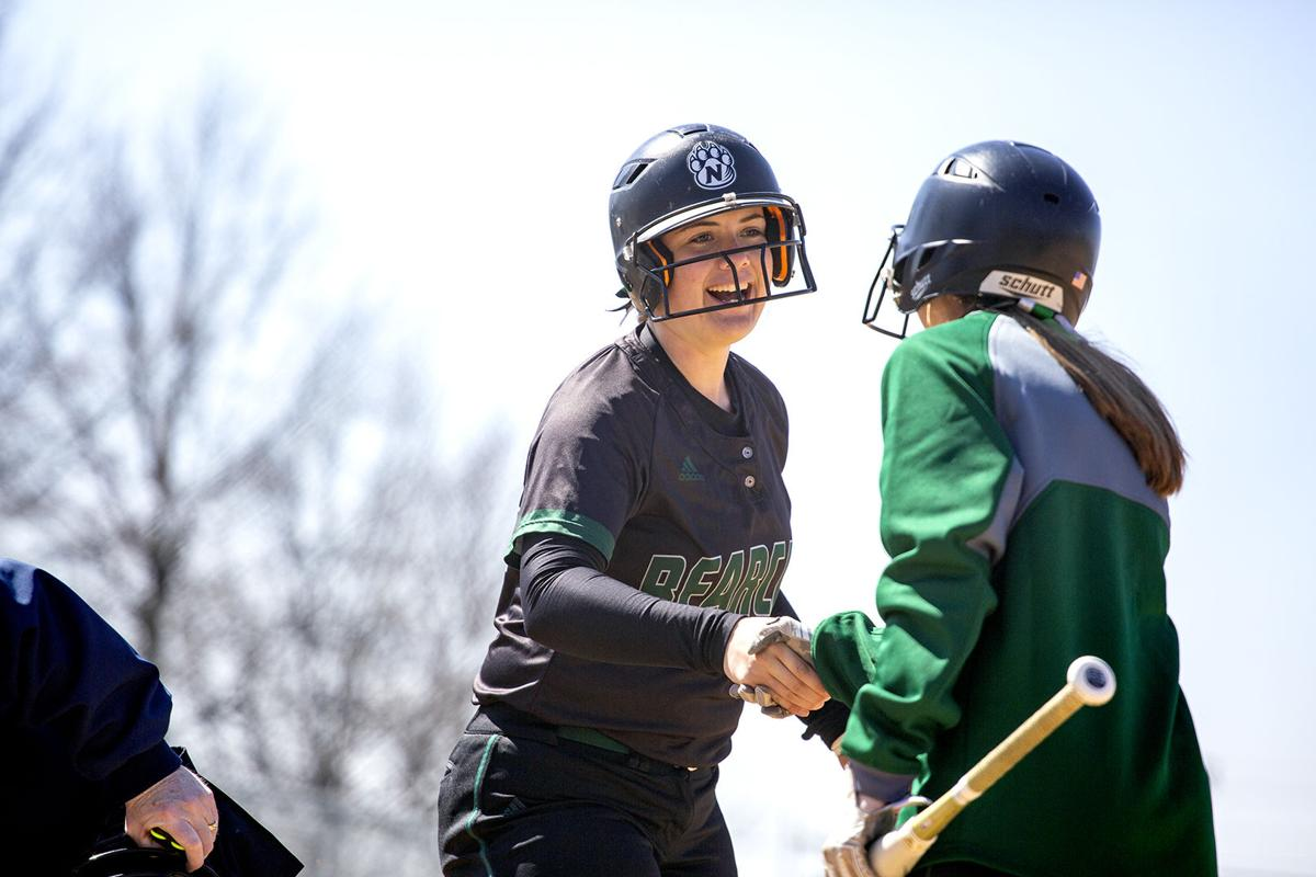 Northwest softball takes doubleheader over MIAA rival