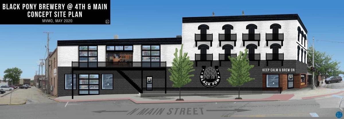 brewery rendering