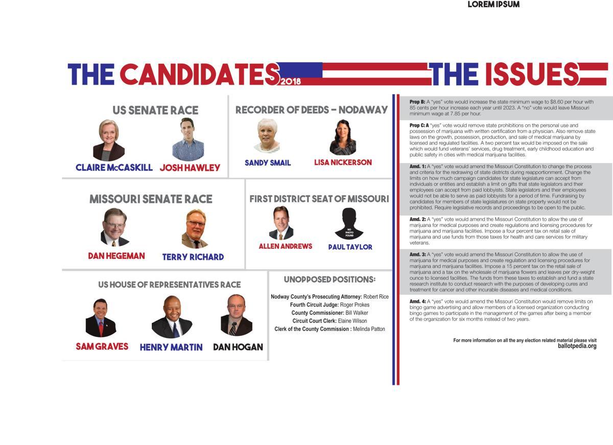Missouri sets the stage for Nov  6 election | News