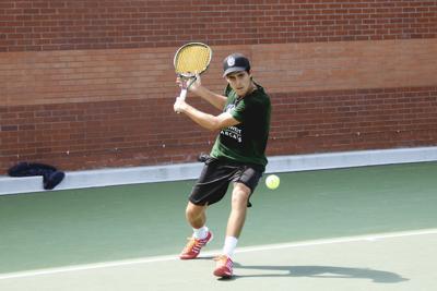 Northwest Men's Tennis' Agustin Velasco