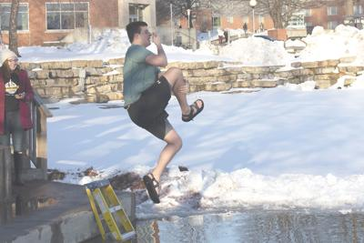 9d036db0e Northwest Bearcats plunge into pond for charity | Features ...