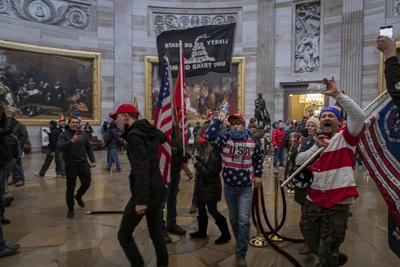 NY: Pro-Trump Supporters Breach The Capitol Building