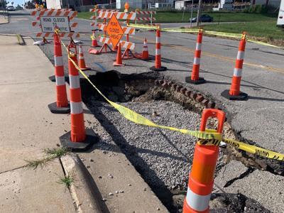 Third street repairs