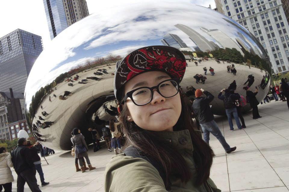 Heymi Lee selfie