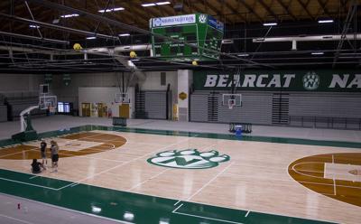 Bearcat Arena court