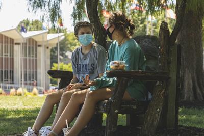 Masks - first day