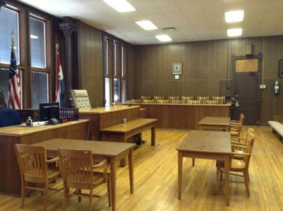 Nodaway County courtroom