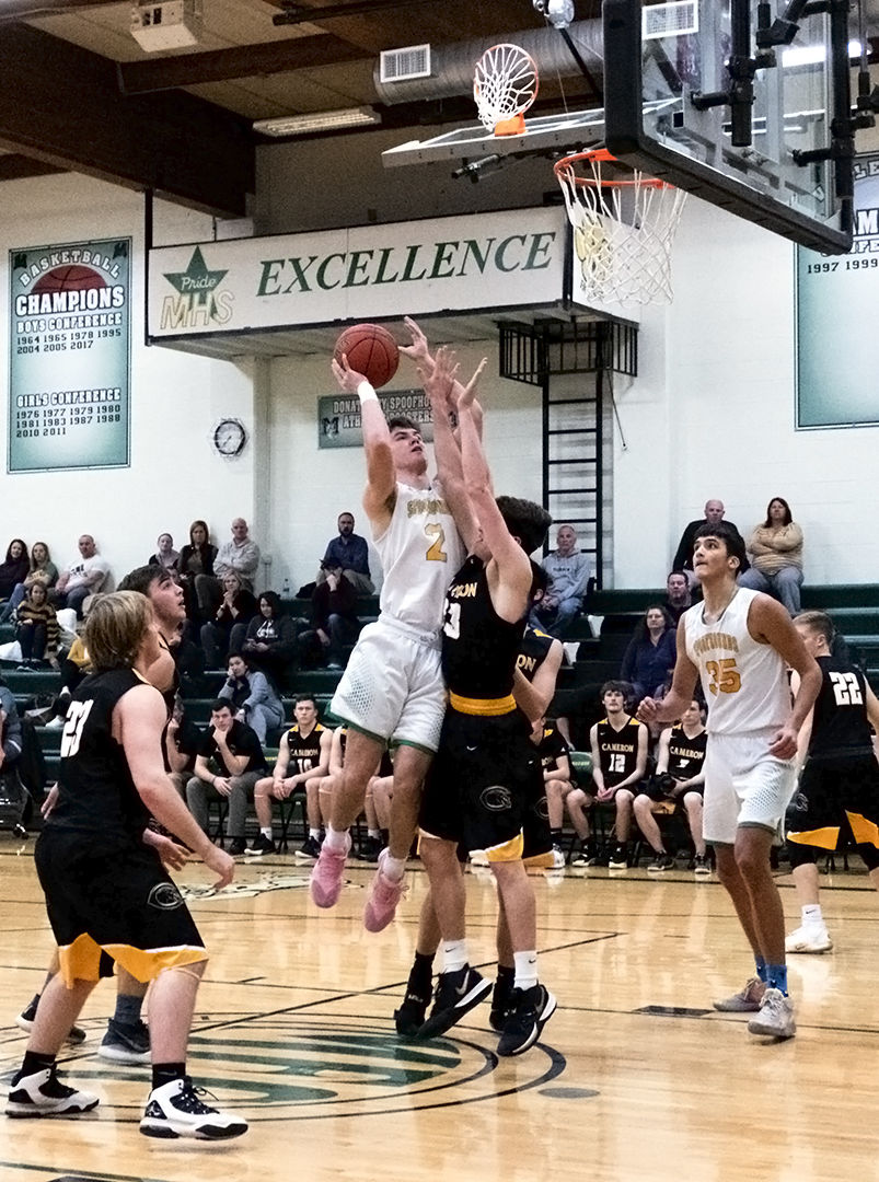 Maryville boys basketball takes two conference games