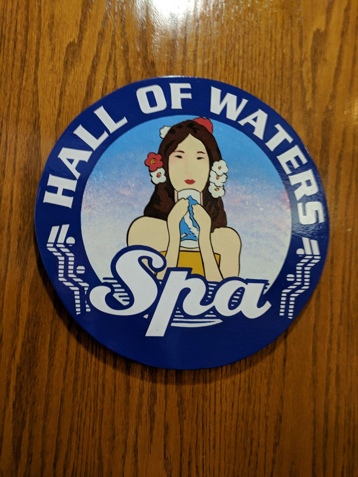 Hall of Waters sign