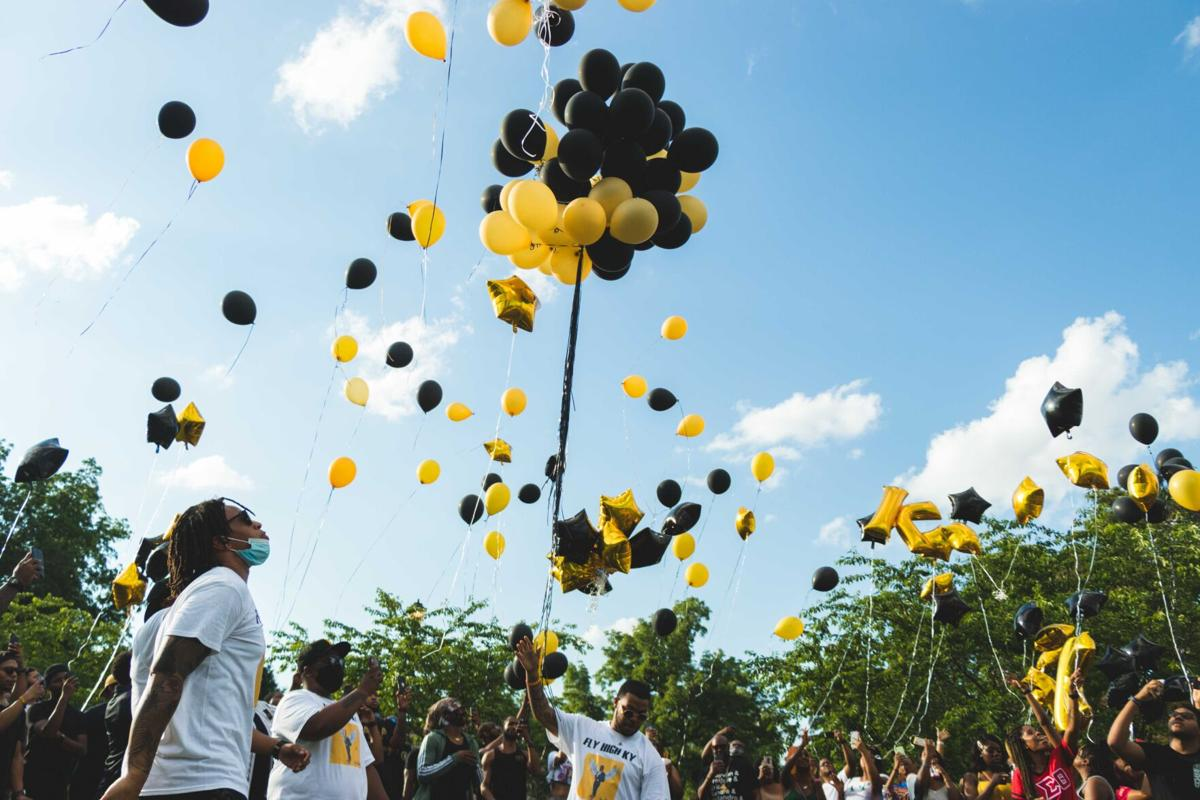 Friends gather to remember Northwest junior Kylan Harrell who was shot and killed last week