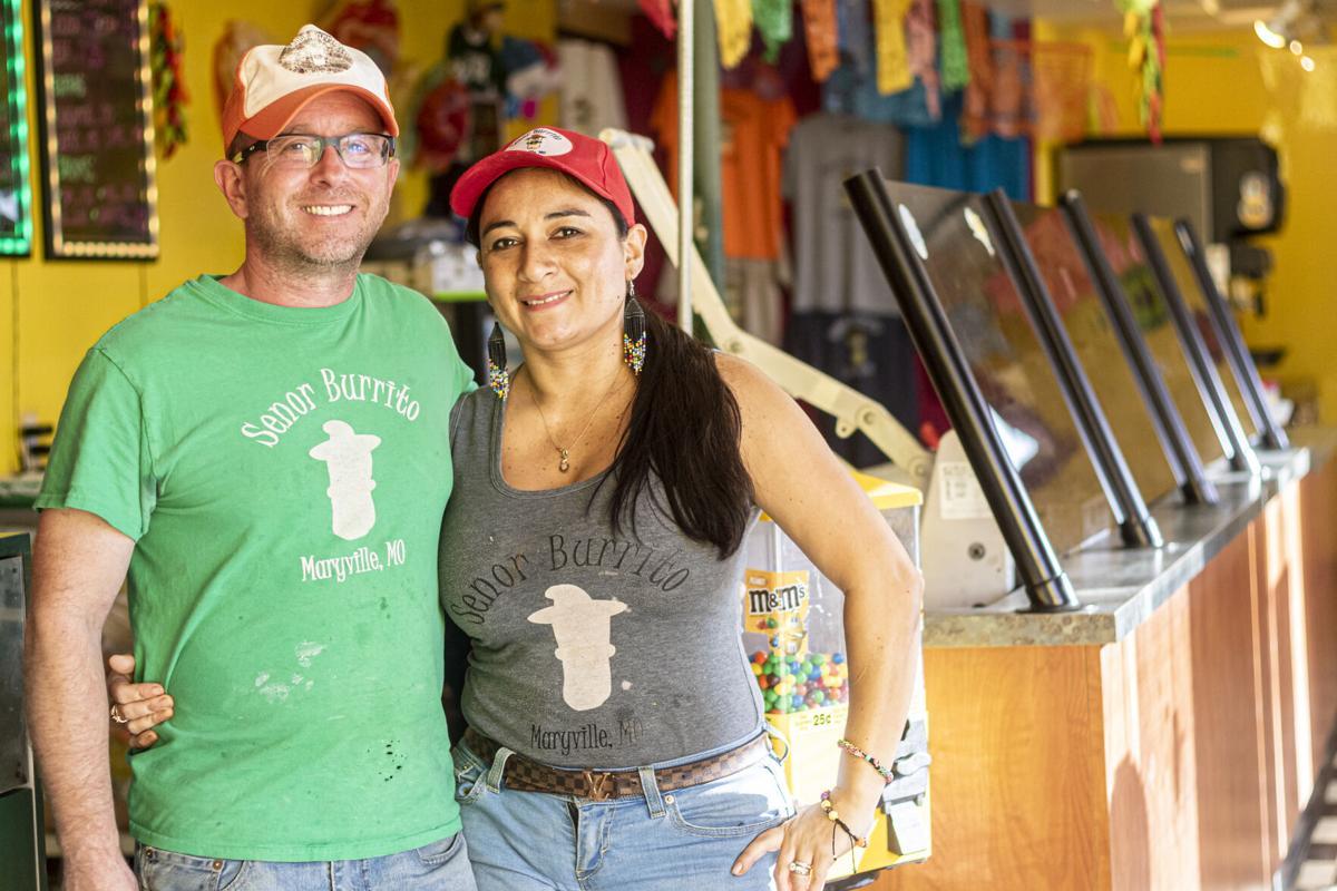 The Dickeys, Señor Burrito's hard working owners