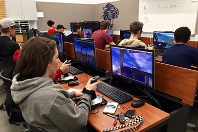 North Creek High School Students Get a Taste of Aviation and Engineering with New Class