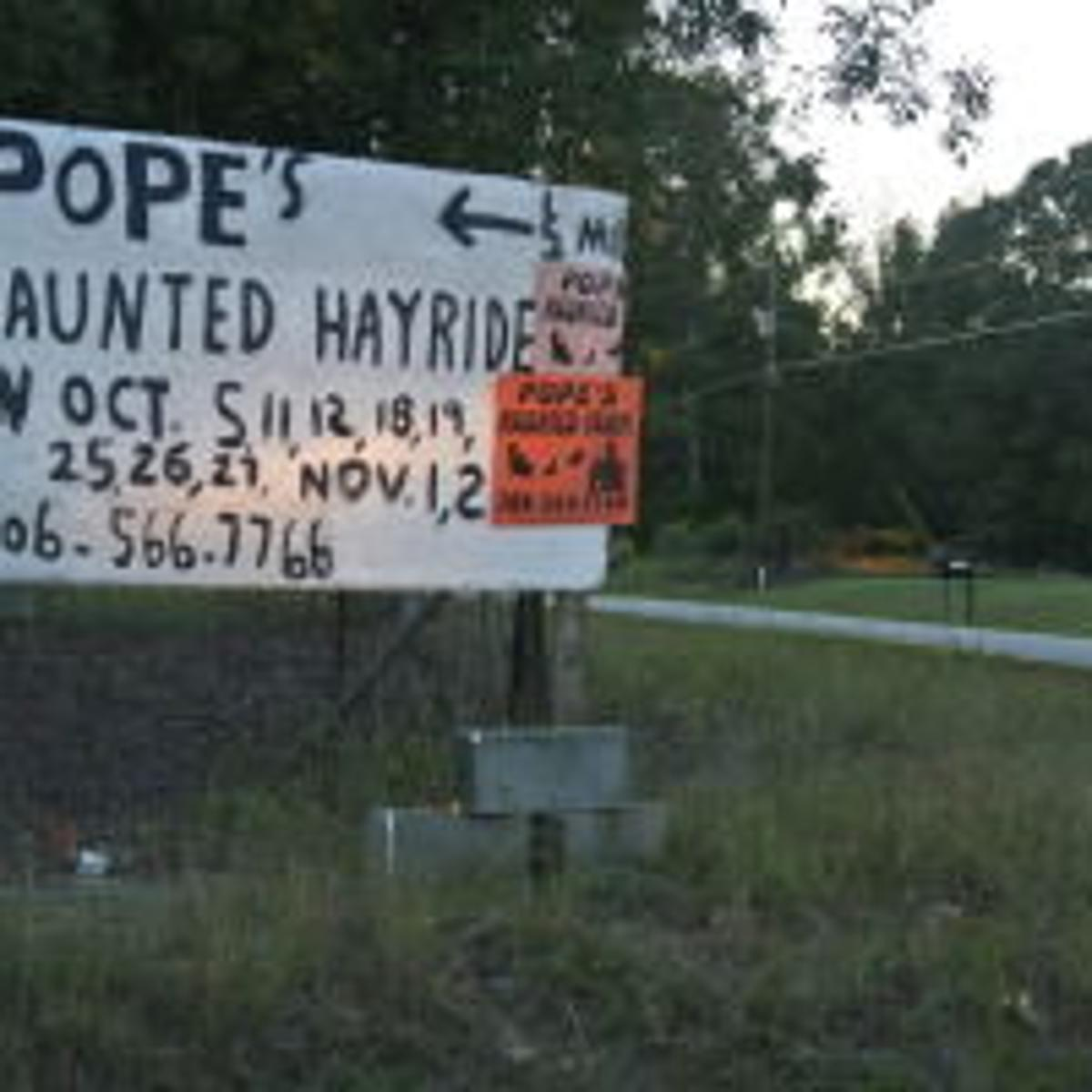 The Story Behind Pope S Haunted Farm The Corner Oanow Com