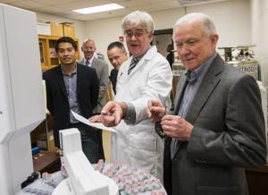 U.S. Attorney General Jeff Sessions visits Auburn University
