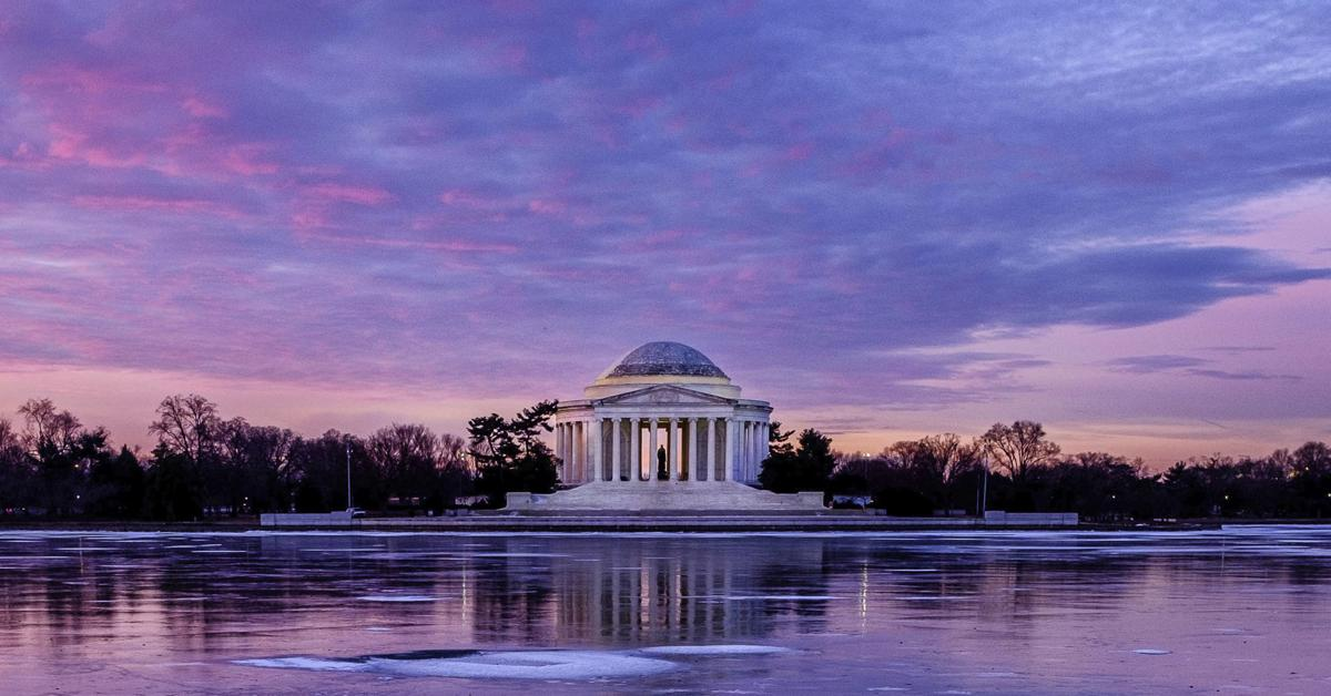 Photos: Stunning snapshots of the Jefferson Memorial