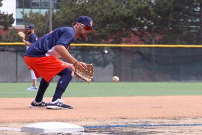 PHOTOS: Auburn baseball Monday practice at the College World Series
