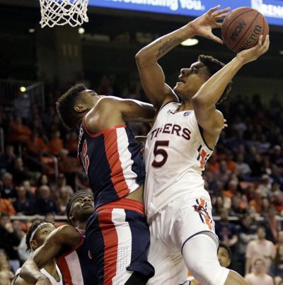 Auburn men's basketball vs. Ole Miss