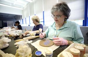 Citizens make ceramic projects in studio open house