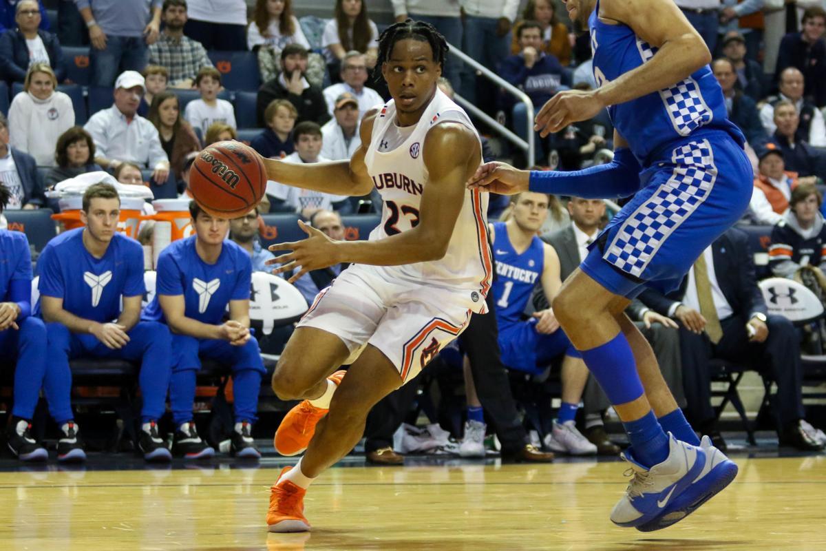 Auburn vs. Ketucky men's basketball