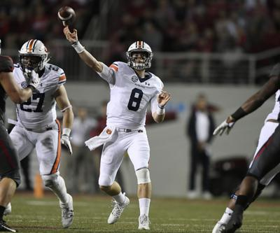 c1963f111fe Jarrett Stidham has Auburn's 2017 pass offense on pace to be one of ...