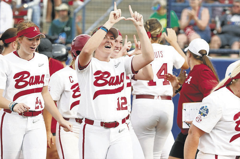 0602 Alabama softball photo