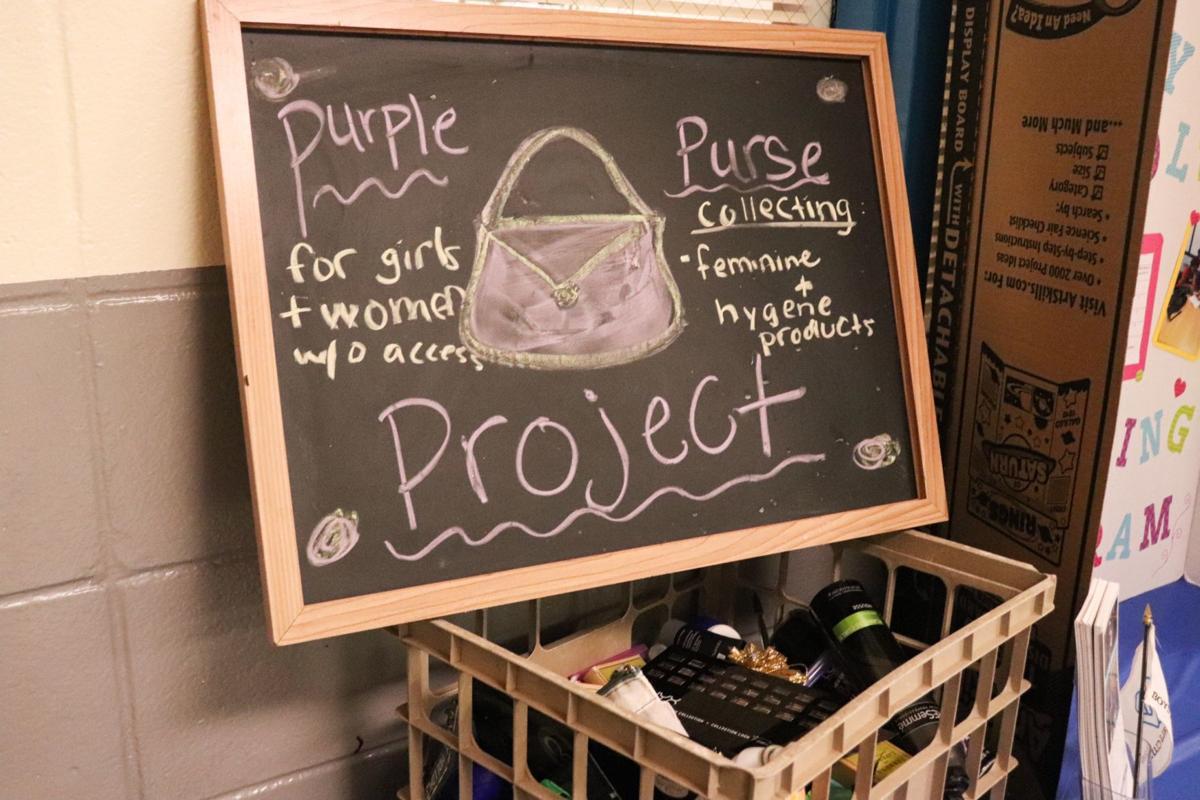 Boys and Girls Club: Purple Purse Project