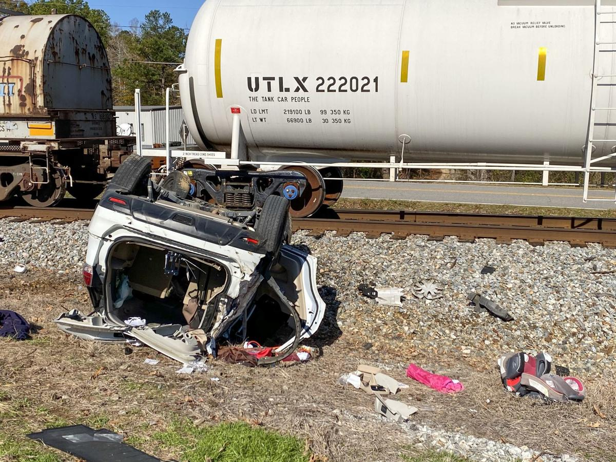 Train-car fatal accident