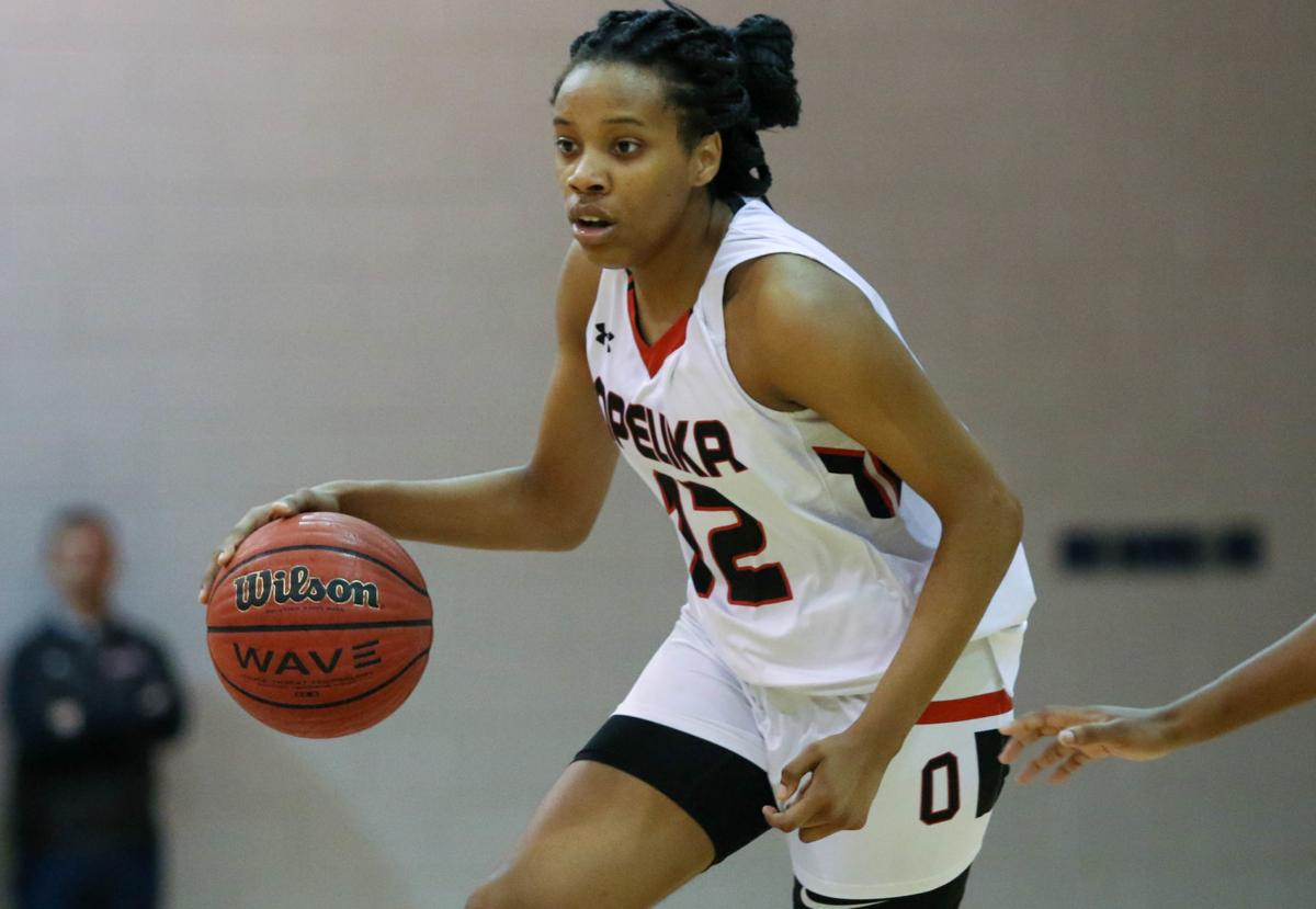 Opelika vs. Russell County Area 6-6A girls high school basketball