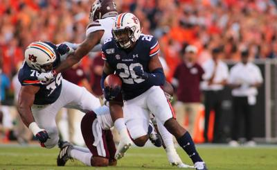 Auburn leading rusher JaTarvious Whitlow injured, will miss 4-6 weeks