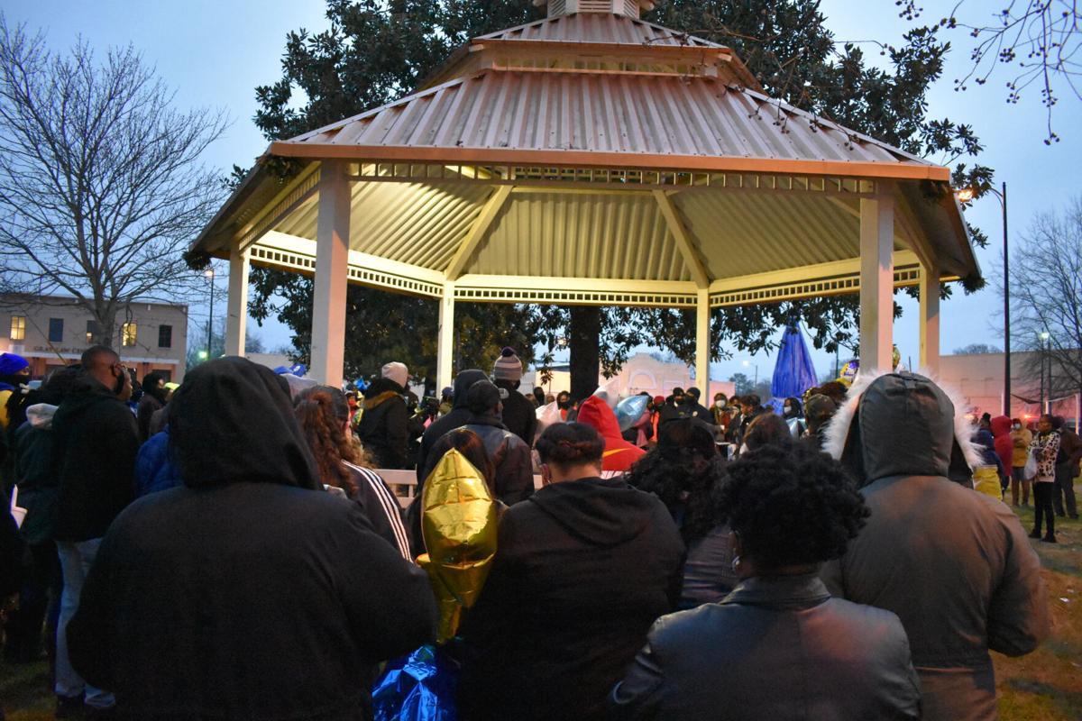 Davion Tarver candlelight vigil 1