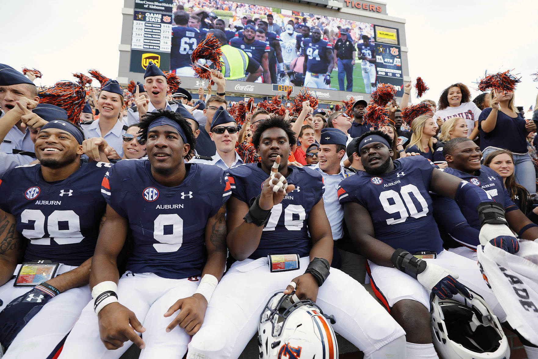 Auburn players miss season opener against Georgia Southern