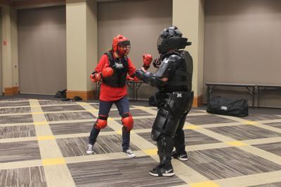 self defense training suit