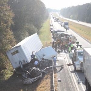 I-85 crash in Auburn kills Virginia trucker   News   oanow com