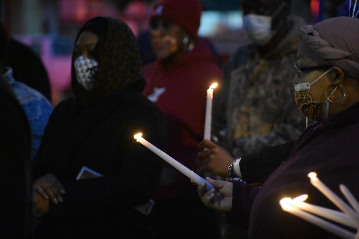 Davion Tarver candlelight vigil 2