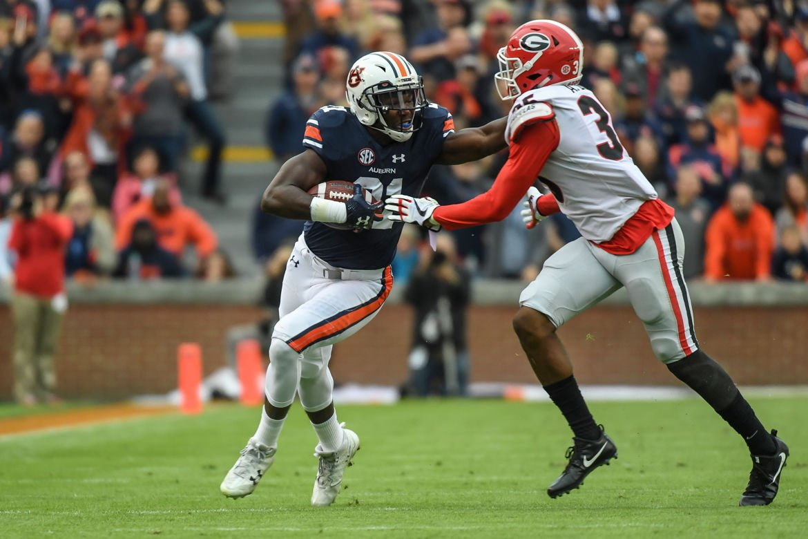 Kerryon Johnson becomes latest Auburn running back to rush ...