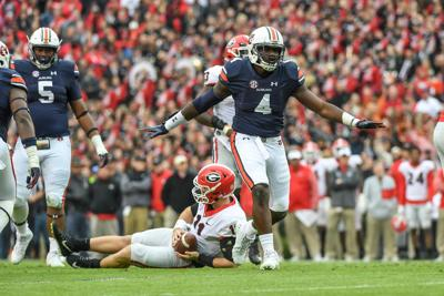 No. 10 Auburn defeats No. 1 Georgia