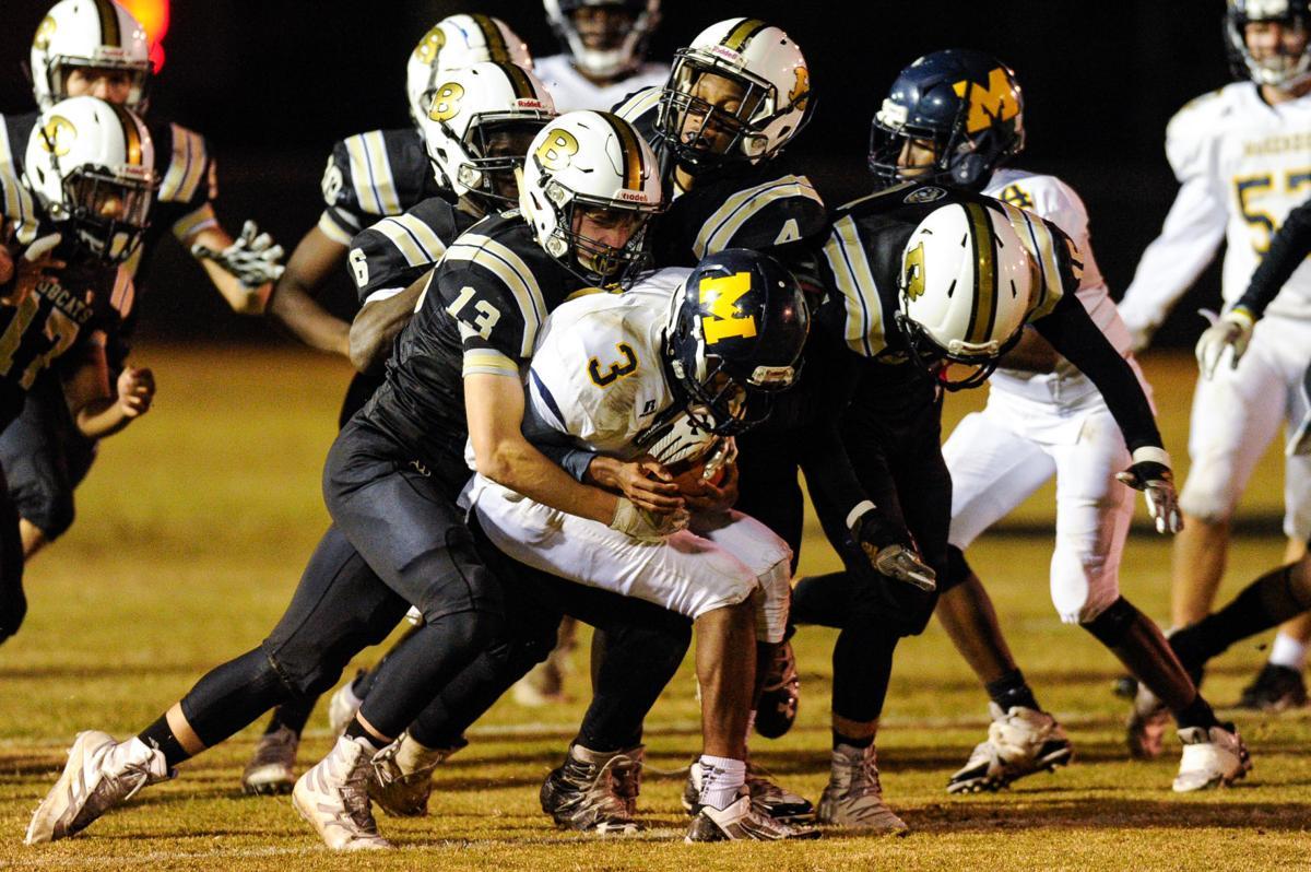 High School Football - Beulah vs McKenzie