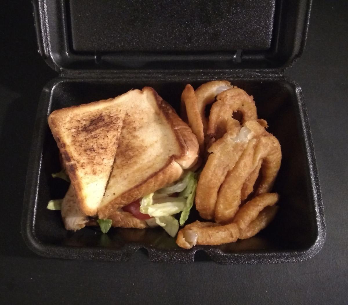 Tasty sandwich at Auburn restaurant