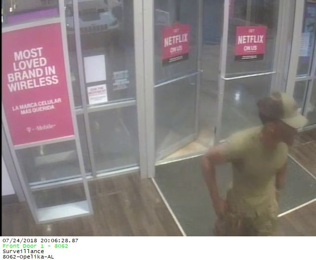 Armed robbery at T-Mobile store in Tiger Town investigated