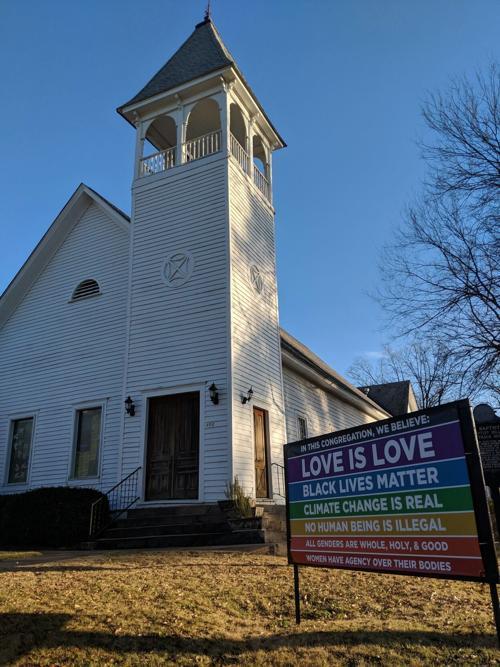 Auburn Unitarian Universalist Fellowship sign stolen Saturday afternoon