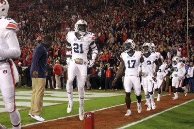 Auburn at Georgia pregame
