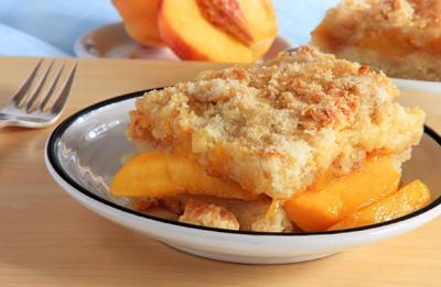 Recipe of the Day: Peach Cobbler