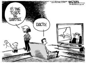 Sharpie cartoon