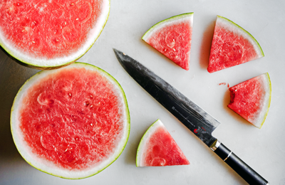 How to cut a watermelon 4 ways